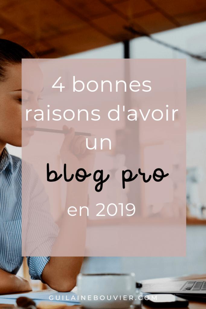 pourquoi avoir un blog professionnel est important en 2019